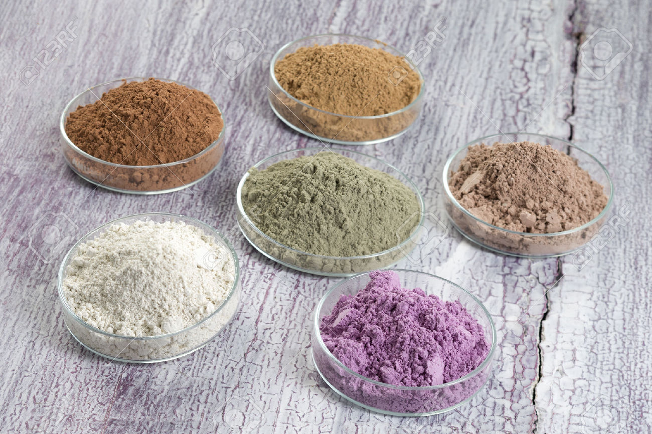 argille colorate