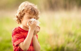 Bambini e allergie
