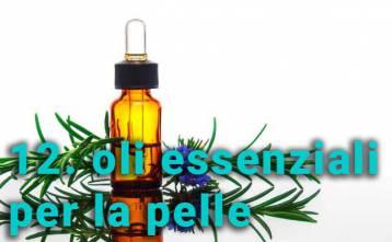 Indicazioni sull'uso di oli essenziali per la pelle