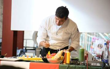 A Biosalus lo chef Rafael Rodriguez  porta la cucina del Perù