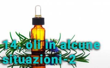 Uso degli oli essenziali in alcune situazioni 2