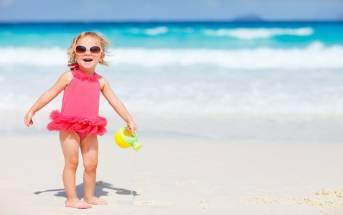 Gli Effetti benefici del mare sui bambini