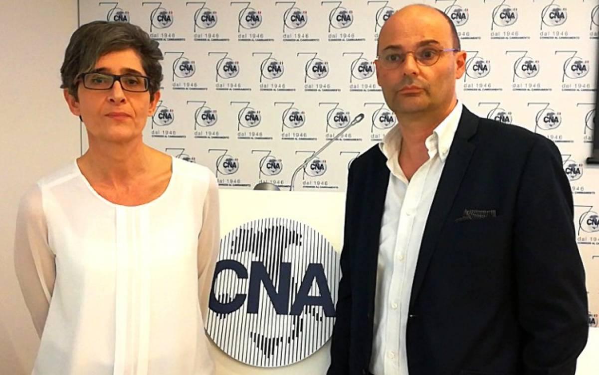 Dott.ssa Lorenza Guglielmi (ACCREDIA) e Ing. Gianluca De Vincentiis (FAC Certifica)