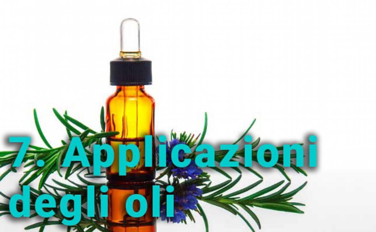 Applicazioni degli oli essenziali