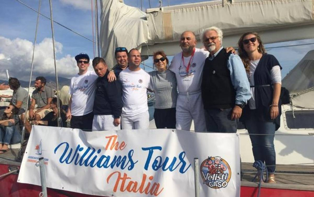 THE WILLIAMS TOUR: il giro d'Italia senza barriere