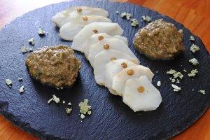 Ricetta Topinambur con pate di lenticchie