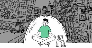 La meditazione esistenziale e l'importanza di fermarsi per ritrovarsi